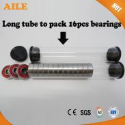 16pcs/tube Wholesale Custom 608 Bearings For Inline Skate