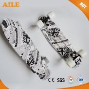 High Quality Graphic Printed Newspaper Super Cheap Skate Longboard