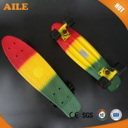 High Quality Three Color PP Cruiser Skateboard